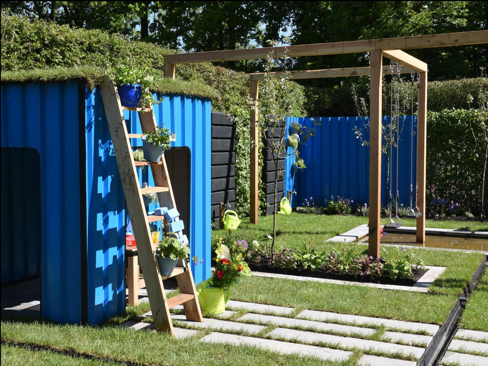 Tuinontwerp voor op Gardenista - Pluk & Play